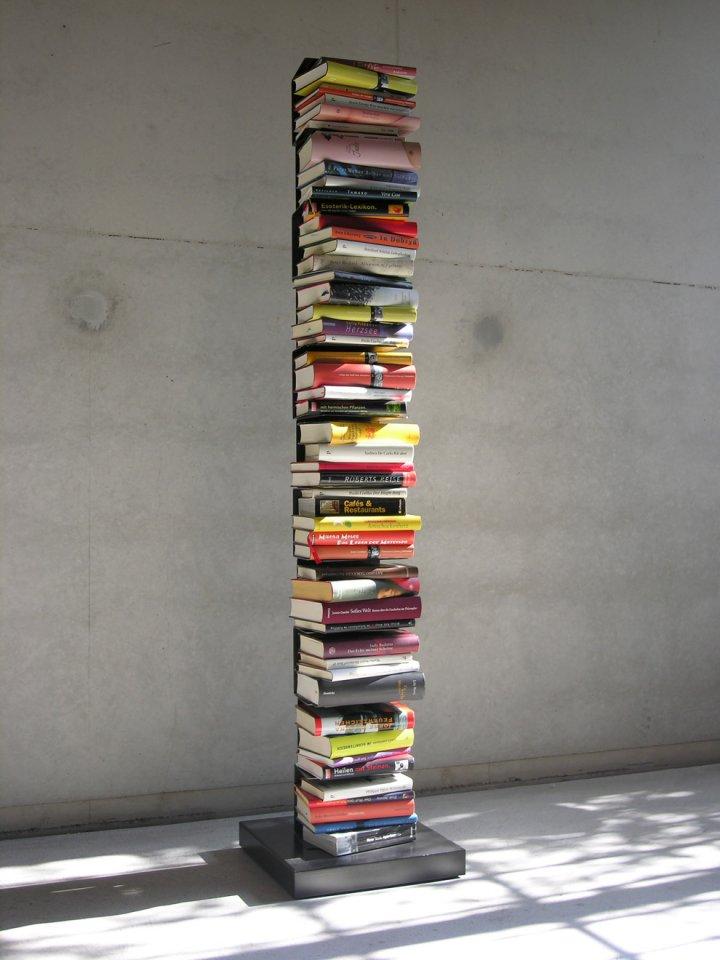 minimal design, Designmöbel und Einrichtungen   Ptolomeo – Bücherturm